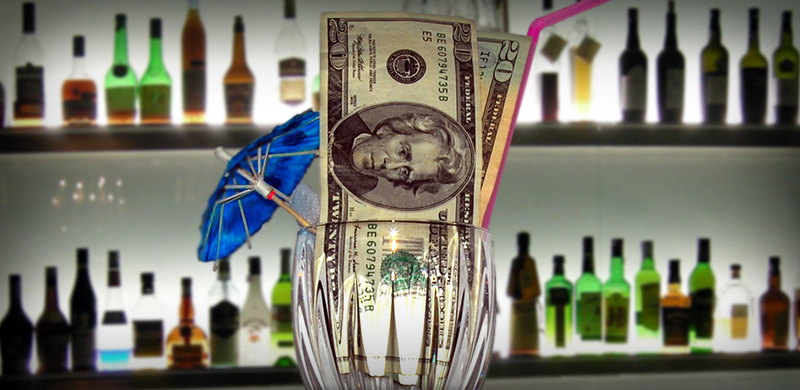 Image of a Nightclub Controlling Beverage Costs