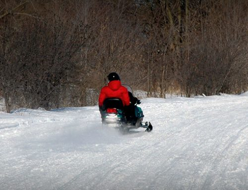 Opening a Bar on a Snowmobile Trail