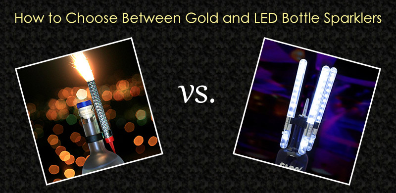 Choosing Between the Types of Bottle Sparklers image