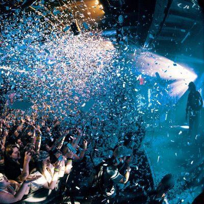 Image of a Nightclub Hosting an Event