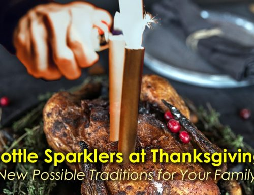 Ways to Use Bottle Sparklers at Thanksgiving