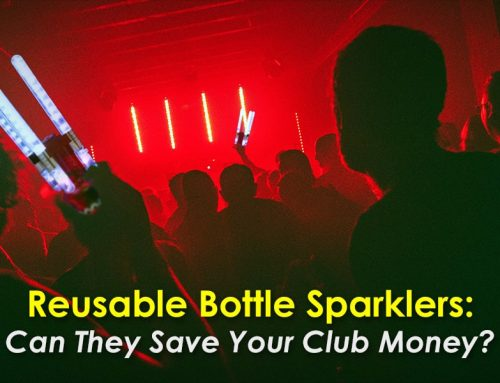 Reusable Bottle Sparklers: Can They Save Your Club Money?