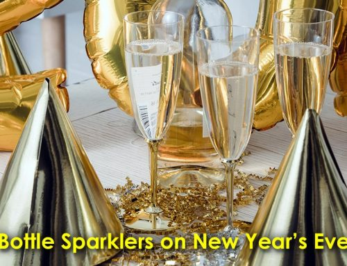 Ways to Use Bottle Sparklers on New Year's Eve
