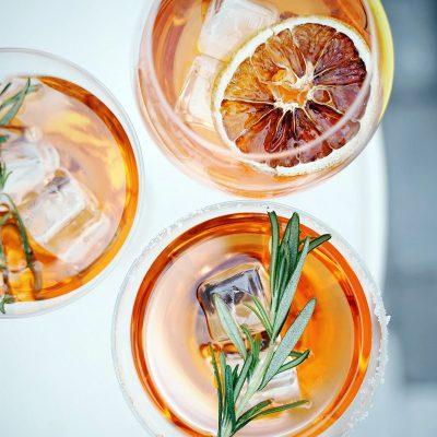 image of Fun Summer Cocktails at a Bar