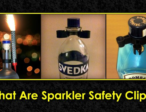 What are Sparkler Safety Clips?