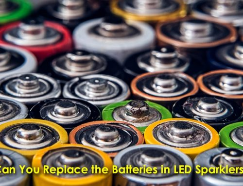 Can You Replace the Batteries in LED Sparklers?