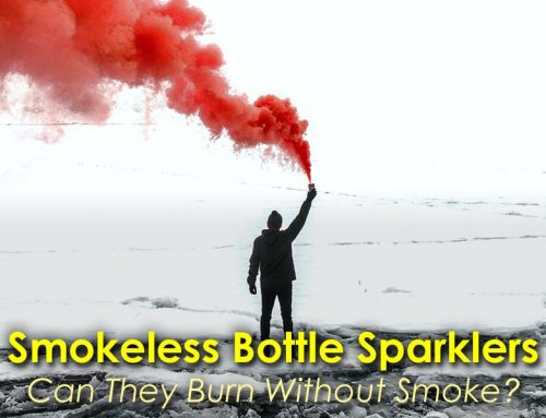 Are Bottle Sparklers Smokeless?